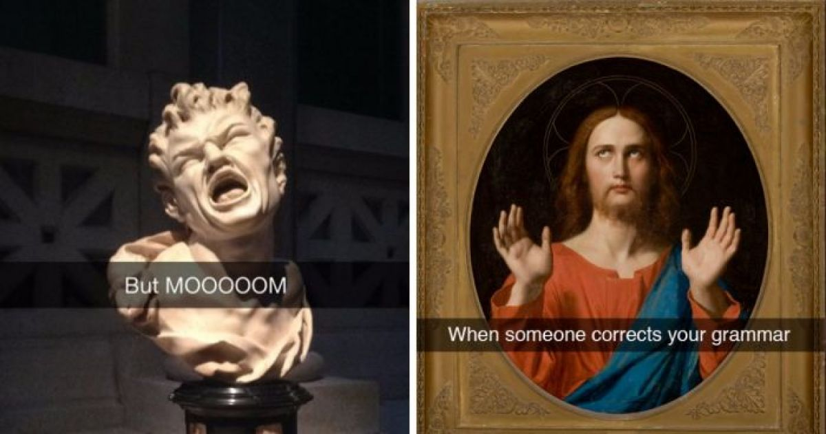 13 Museum Snapchats That Are The Best Thing On The Internet
