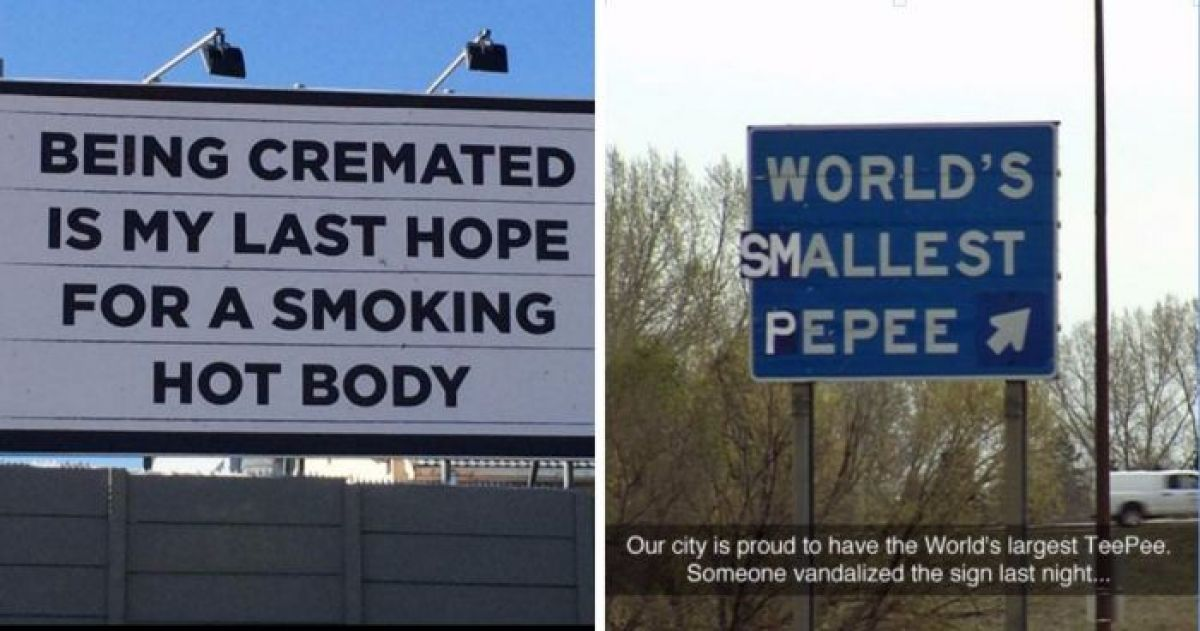 16 Funniest Signs Found In Public